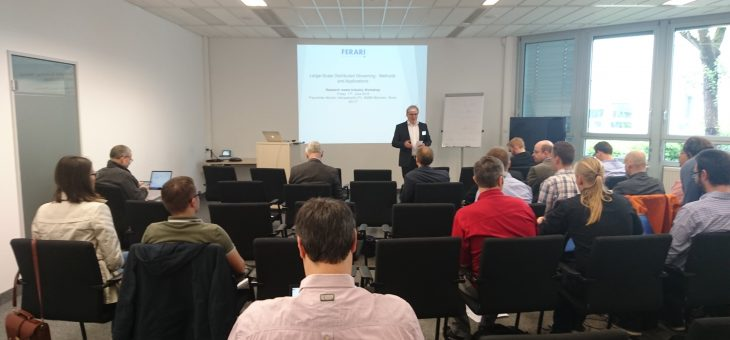 """Large-Scale Distributed Streaming – Methods and Applications"" workshop successfully held at Fraunhofer-Gesellschaft in Munich"